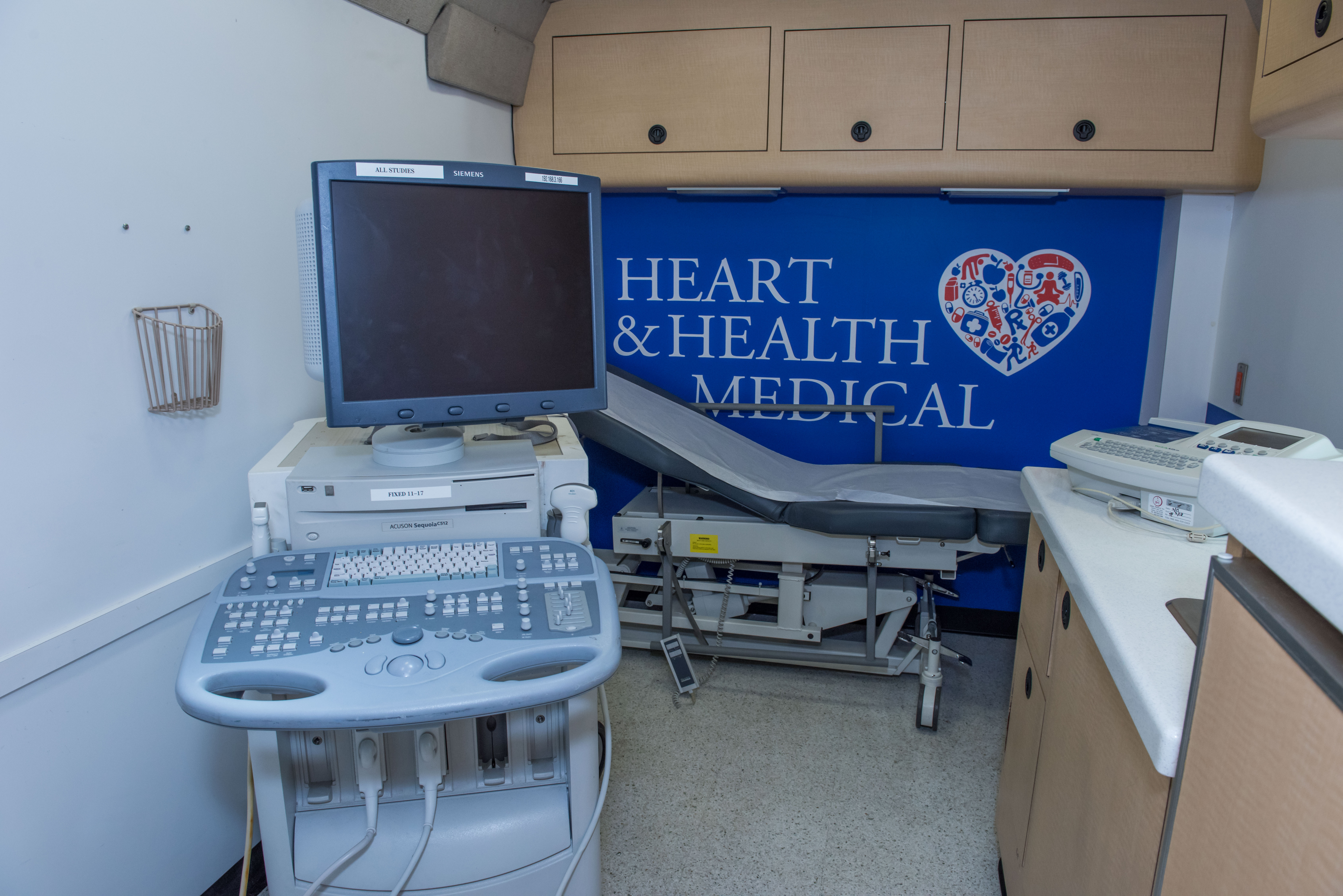 Heart and Health Mobile Medical Unit | Simplified Workplace Health Care