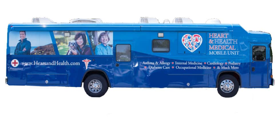 Heart and Health Medical Mobile Unit